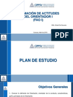 Plan de Trabajo FAO I