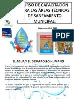 Áeas Técnicas Municipales.