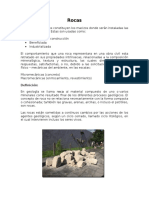 Rocas- Clasificacion