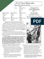 dm bulletin 1 of 3 spanish 2016