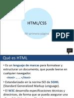 Curso de HTML5, JavaScript y CSS3 Modulo1 Transparencias