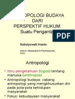Pengantar Antropologi & Hukum 2012