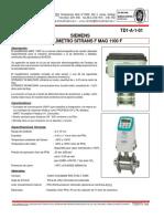 TD1-A-1-01 Caudalímetro Sitrans F MAG 1100F (Siemens)