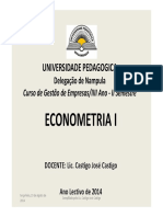 Aulas 01 Econometria2014 [Modo de Compatibilidade]