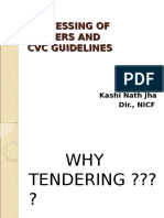 Tendering Process Cvc Guidelines