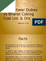 Kusheshwar Dubey vs Bharat Coking Coal Ltd & Ors.