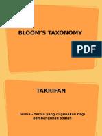 7 Tm006 - Taxonomy Bloom