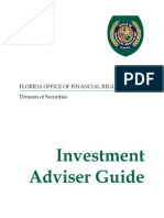Florida Guide for Investment Advisers