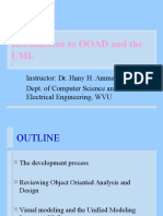 Intro to Ooad in UML