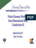 1D Finite Element II