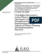 2010 GAO Report on Coast Guard Civil Rights