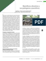 Mamiferos silvestres patogenos