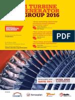 Steam turbine user group 2016