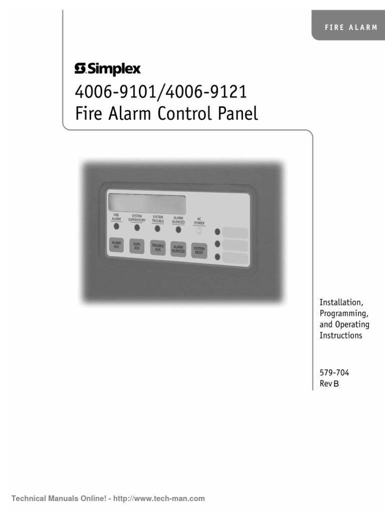 1509635107 simplex 4006 9101 installation programming operation manual rev b simplex 4007es wiring diagram at soozxer.org