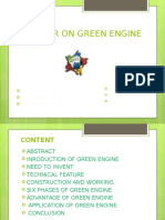 green engine