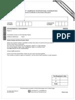 Past paper Environmental management 0680_s07_qp_2