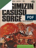 Hans Hellmut Kirst - Çağımızın Casusu Sorge