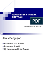 Parameter Standar Ekstrak Rev