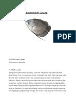 Pembelajaran Usaha Budidaya Ikan Gurame