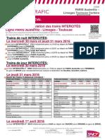 Intercités ligne Paris-Orléans-Limoges-Toulouse