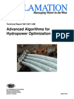 Advanced Algorithms for Hydropower Optimization