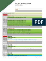 Planning .NET 2015-2016