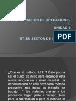 43210081 JIT en El Sector de Servicios