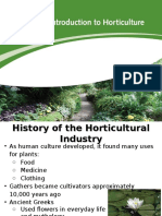 Introduction to Horticulture