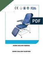 Kursi Dialisis Manual