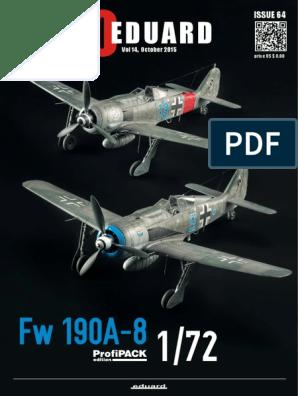 Eduard 1//72 Supermarine Swift FR.5 Landing Flaps # 72613