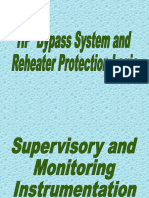 Hp Bypass System and Reheater Protection Logic