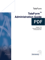 TeleForm 10.5 Adminstration Guide