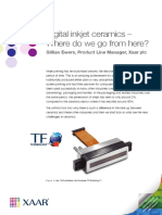 Digital Inkjet Ceramics