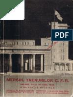 Mersul Trenurilor 1934