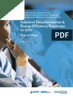 Industrial Decarbonisation & Energy Efficiency Roadmaps to 2050