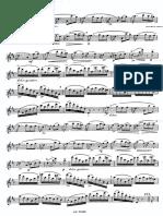 Paganini - Caprice 20 (Flute)