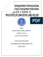 Resume Manajemen Pemasaran Philip Kotler Buku I Dan II
