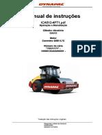 Cilindro vibratório Dynapac CA512