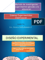 Ppt Sesion 1. Clasificacion de Los Disenos Exp.