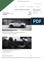 Build Your Range Rover Evoque - Summary