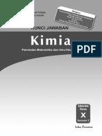 Kunci Jawaban, Silabus Dan RPP PR KIMIA 10B 2014
