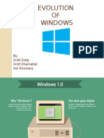 Historia e Windows