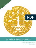 CfBS Sponsorship Packet 2016