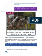 Using sender verification for identifying Spoof mail  SPF, DKIM, DMARC, Exchange and Exchange Online Part 8#9  .pdf