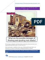 What are the possible damages of Phishing and spoofing mail attacks - Part 2#9.pdf