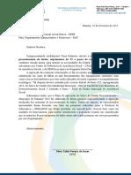 Memorando   n° 014 - Aquisição de materiais de processamento de  dados  , suprimentos de TI e peças de reposição e ferramentas ok - EDITADO PELA TI