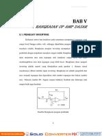 Penjelasan Soal Op-Amp Inverting Non Inverting Differensial BAB-5-V