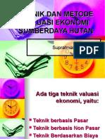 Valuasi Ekonomi prof supratman 2