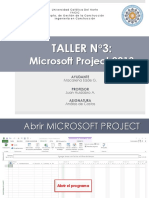 Taller3 Microsoft Project Clase1