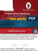 Exposicion de Protecciones . Hilo Piloto Ing . Velazco